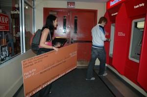 Deposit giant check