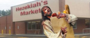 jesus grocery shopping