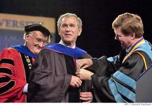 bush diploma