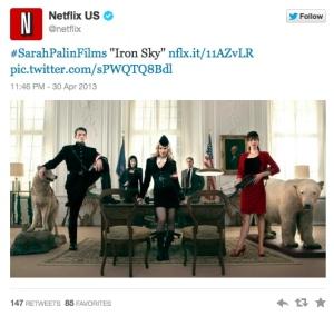 Netflix Palin