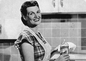 1950s woman cleaning, homemaker, housewife, Chronically Vintage_thumb[2]