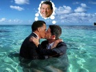 paul ryan kissing