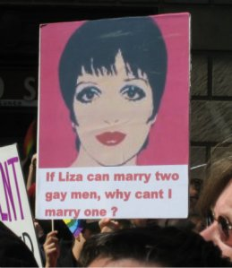 Liza gay marriage