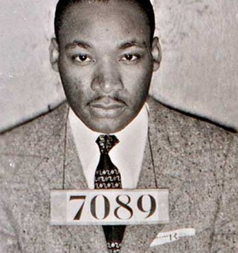 martin luther king mug shot