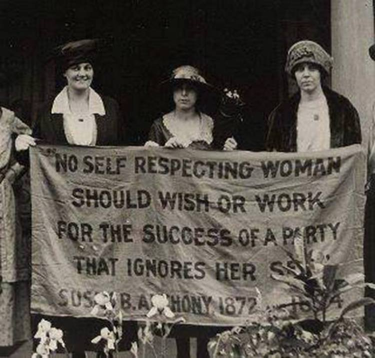 susan b anthony sign