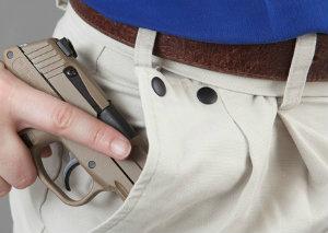 Gun-in-pocket