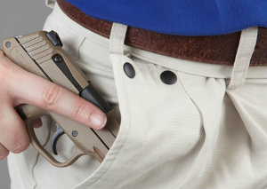Gun-in-pocket