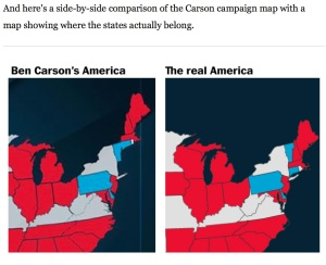Carson Map of US