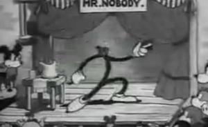 Betty Boop President Mr. Nobody