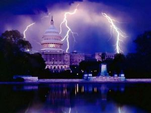 DC Capitol Lightning