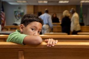 kid in court