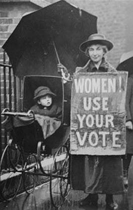womens right to vote
