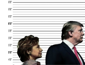Trump Hilliary Height